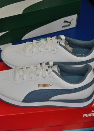 Puma turin 37.5 23.5 женские кроссовки пума
