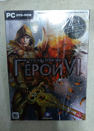 Герои 6 Heroes Might & Magic VI игра диск лицензия для компьютера