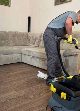 Химчистка мягкой мебели от 450 грн