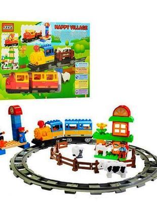 Железная дорога конструктор Jixin 6188 C Волшебное путешествие 56