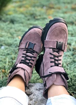 Ботинки, замшевые ботинки