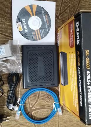 Маршрутизатор dsl-2500U adsl2+ethernet router