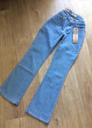 Скидка до 19.09!!!  голубые джинсы levi's 715 bootcut