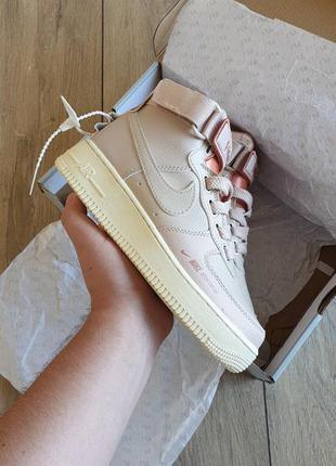Жіночі кросівки nike air force 1 high pink