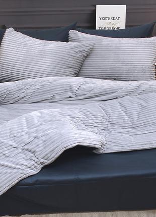 Комплект постельного белья зима-лето (сатин/велсофт)
