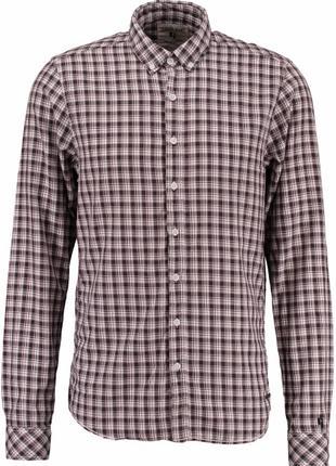 Рубашка Garcia Jeans A71025 M Коричневая 8718211769686