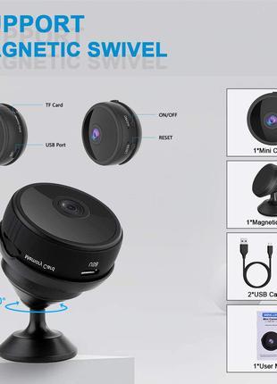 Ip камера, 1080P HD приховані камери WiFi