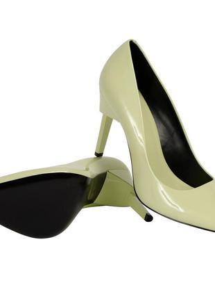 Calvin klein каблуки кожа обувь туфли женские