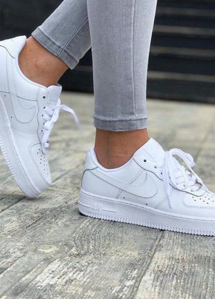 Nike air firce 1 low white