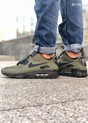 Nike Air Max 90 Ultra Mid (зеленые)