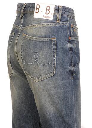 Blue Blood Нидерланды мужские джинсы 30/34 рваные штаны брюки