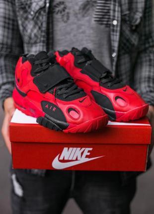 Мужские кроссовки nike air boot red\black