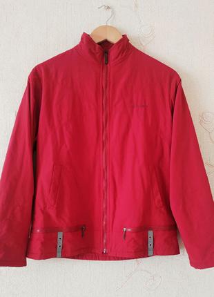 Легкая ветровка, курточка, красная, червона, корея