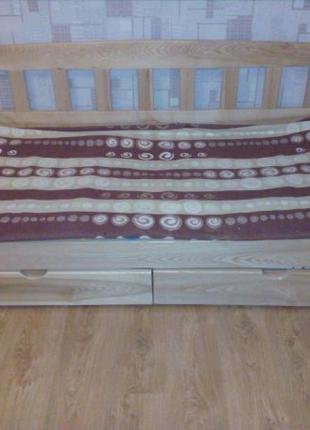 Кровать Тедди бук, для ценителей натурального дерева!