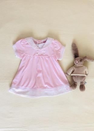 Платье,кофточка,туника,футболка. размер 3-6мес.,6-9 мес.