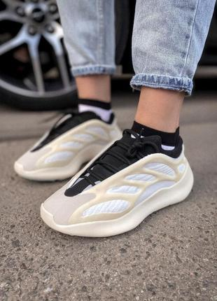 Adidas yeezy boost 700 шикарные кроссовки адидас бежевые (36-42)💜