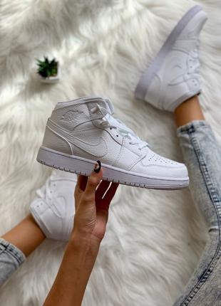 Nike Air Jordan 1 Retro Full White
