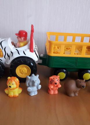 Игровой набор Трактор Сафари Kiddieland озвученный на русском