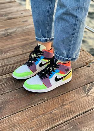 Кроссовки кросівки nike air multicolour