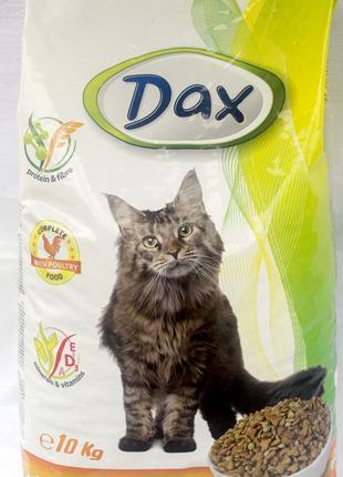 Венгерский корм для кошек Дакс Птица 10кг