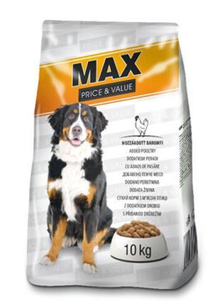Венгерский корм для собак Макс Домашняя птица 10кг