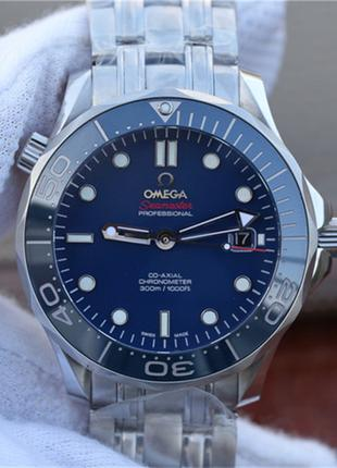 Часы мужские Omega Seamaster, Rolex, Tissot, Longines 41 мм.