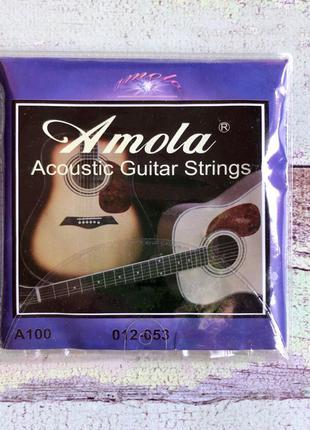 Струны Amola для 6-ти струнной акустической гитары (Бронза)