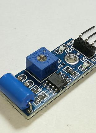 Модуль датчик вибрации SW-420
