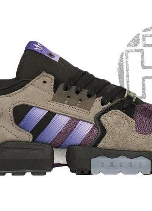 Мужские кроссовки adidas zx torsion packer mega violet grey pu...