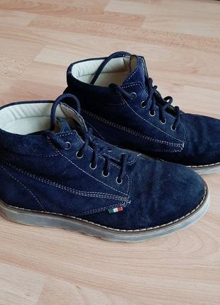 Демисезонние ботинки 37р, Vero Cuoio, туфли, кеды