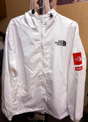 Куртка the north face & supreme