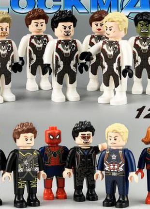 Фигурки, человечки супер-герои мстители лего аналог