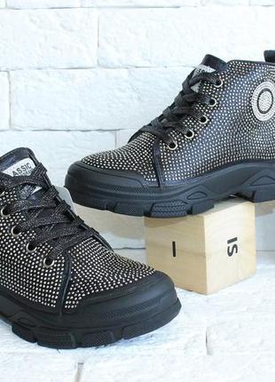 Шикарные деми ботинки для стильных девочек