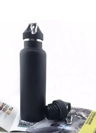 "Спортивная бутылка с карабином ""Fashion"" 550 мл"