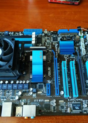 материнка Asus АМ3+процессор PHENOM B59 3.4Ghz