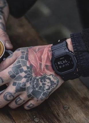 Часы Casio G-Shock DW-5600BBN-1ER оригинал, Cordura, мужские ж...