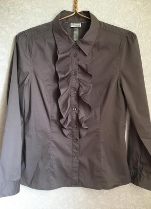 Красивая милейшая фирменная рубашка/блуза в модном цвете