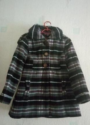 Демисезонное пальто с капюшоном palomino c&a