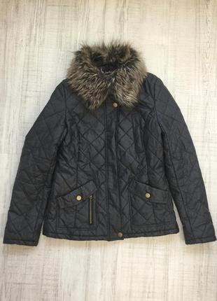 Стеганая куртка демисезонная