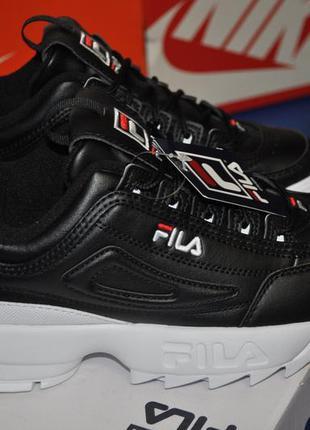 Fila disruptor 2 premium женские кроссовки 38.5 black