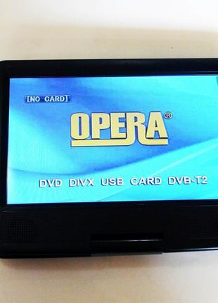 """9,5"""" DVD Opera NS-998 Портативный DVD-проигрыватель с Т2 TV"""