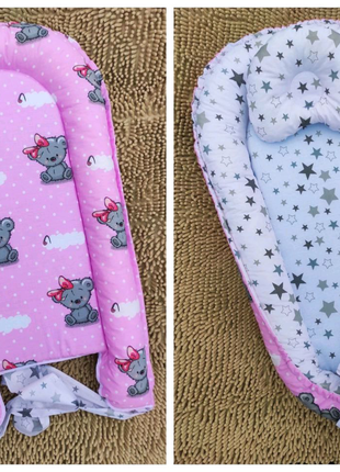 Кокон для новорожденного ,подушка в подарок