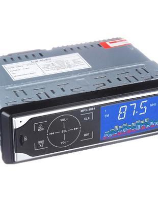 Автомагнитола MP3-3881 с сенсорными кнопками и пультом