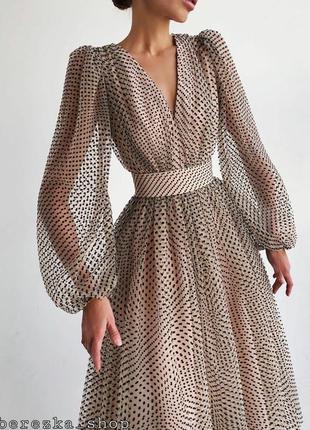 Платье 👗 женское с пышной юбкой
