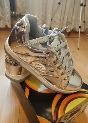 Роликовые кроссовки heelys, р.38, 100% оригинал