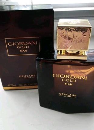 Туалетная вода для мужчин Giordani gold