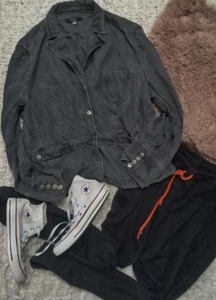 Пиджак шолковисиый джинс