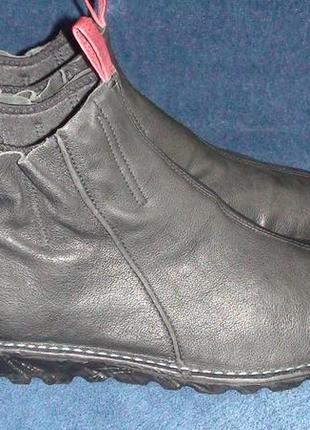 Ecco - шкіряні черевички. р -40