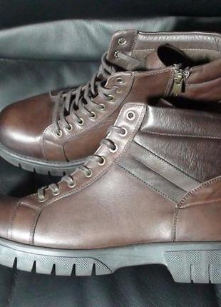 Tergan - шкіряні черевики. р - 44 (29см)