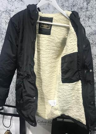 Куртка мужская Parka Caswera Adana Black